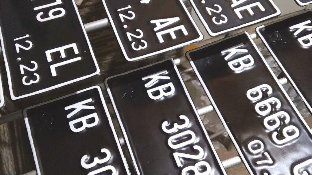 kode plat nomor belakang